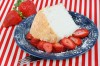 Angel Food Cake and Strawberries