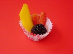 Valentine's fruit cup