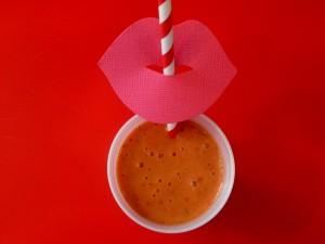 Valentine's Day smoothie