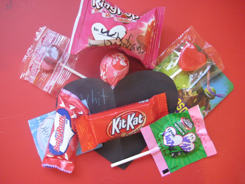 Valentine's Candy at School