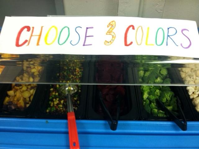 Rainbow salad 4