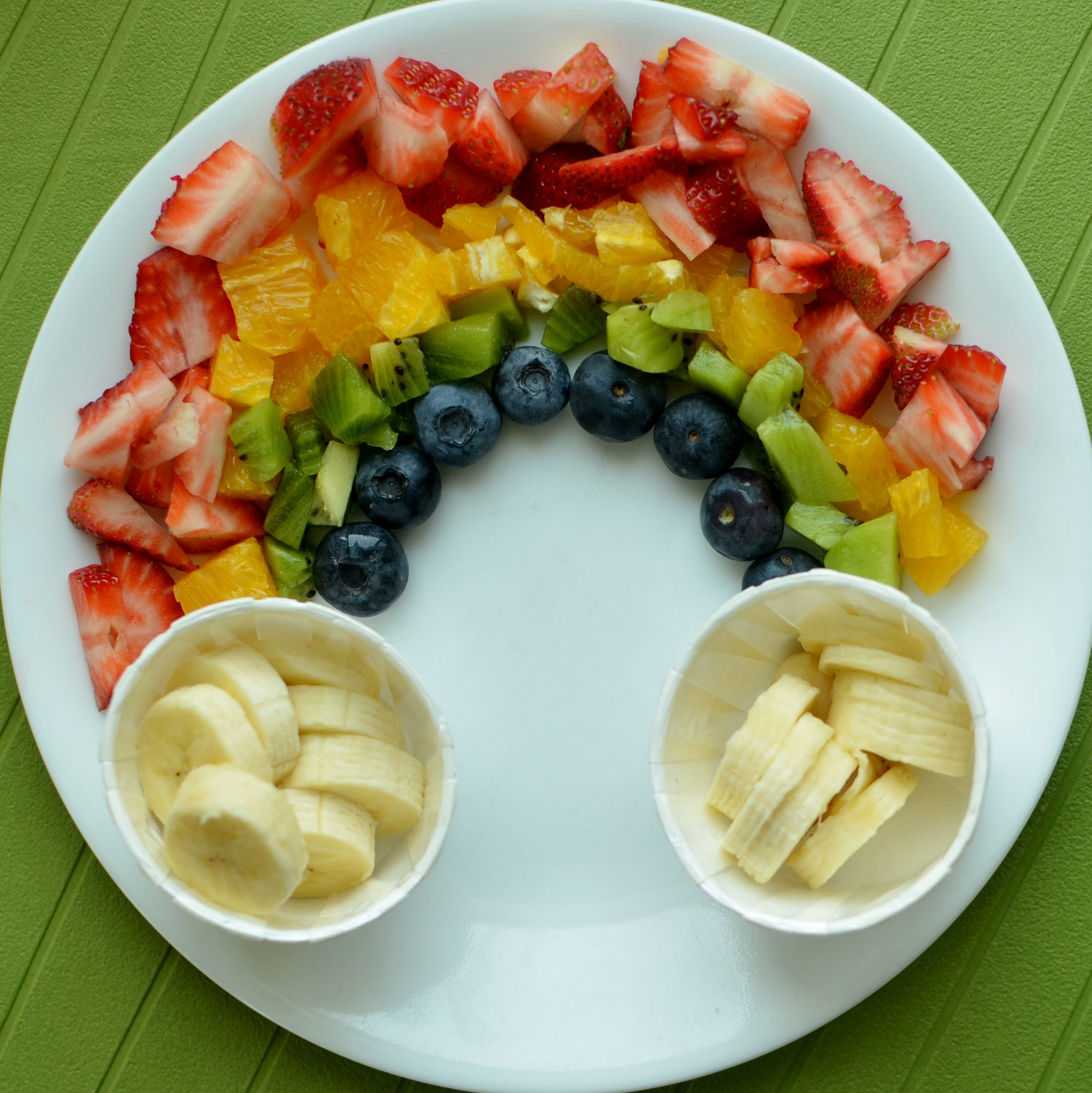 Image result for st patty's day fruit rainbow