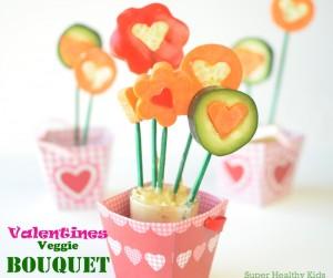 valentines veggie bouquet
