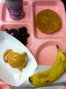 Hemingway school lunch