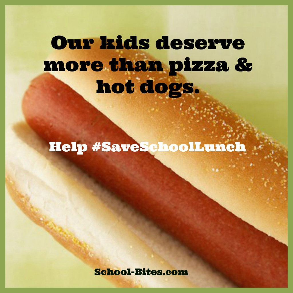 HelpSaveSchoolLunch