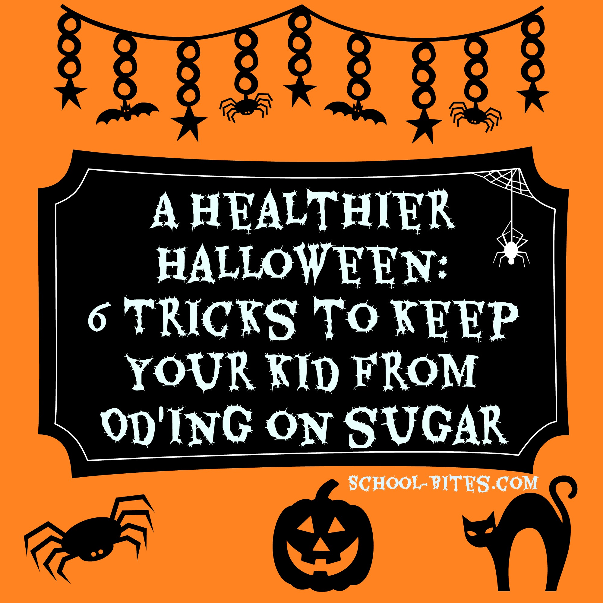 A Healthier Halloween 6 Tricks to Keep Your Kid from OD ing on