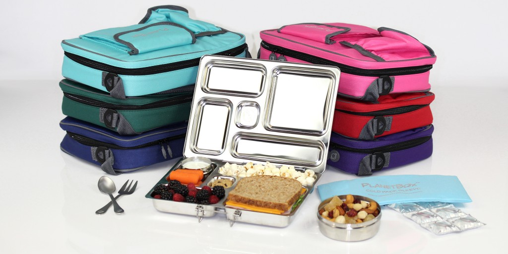 PlanetBox-Rover-Complete-Set-with-Food-Fork-and-Spoon-Set-Coldkit-Lunchbox-XL